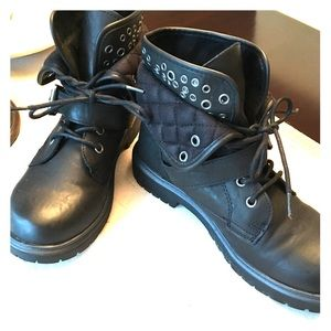 Rock & Candy by Zigi Mickie style combat boots